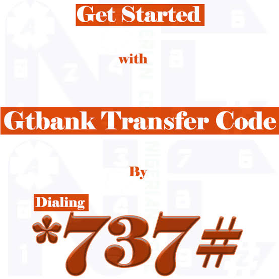 GTBank Transfer Code