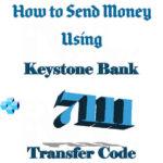 keystone bank transfer code