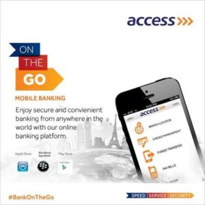 access bank internet banking