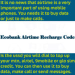 ecobank recharge code