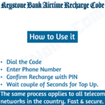 Keystone Bank Recharge Code