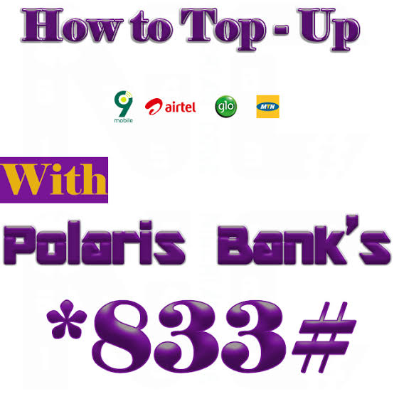 Polaris Bank Recharge Code