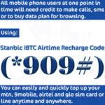 Stanbic Bank Recharge Code