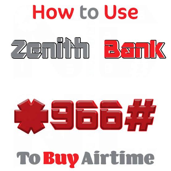 zenith bank recharge code