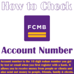How To Check My FCMB Account Number Using Phone