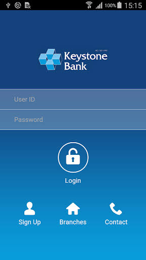 keystone Bank Mobile app