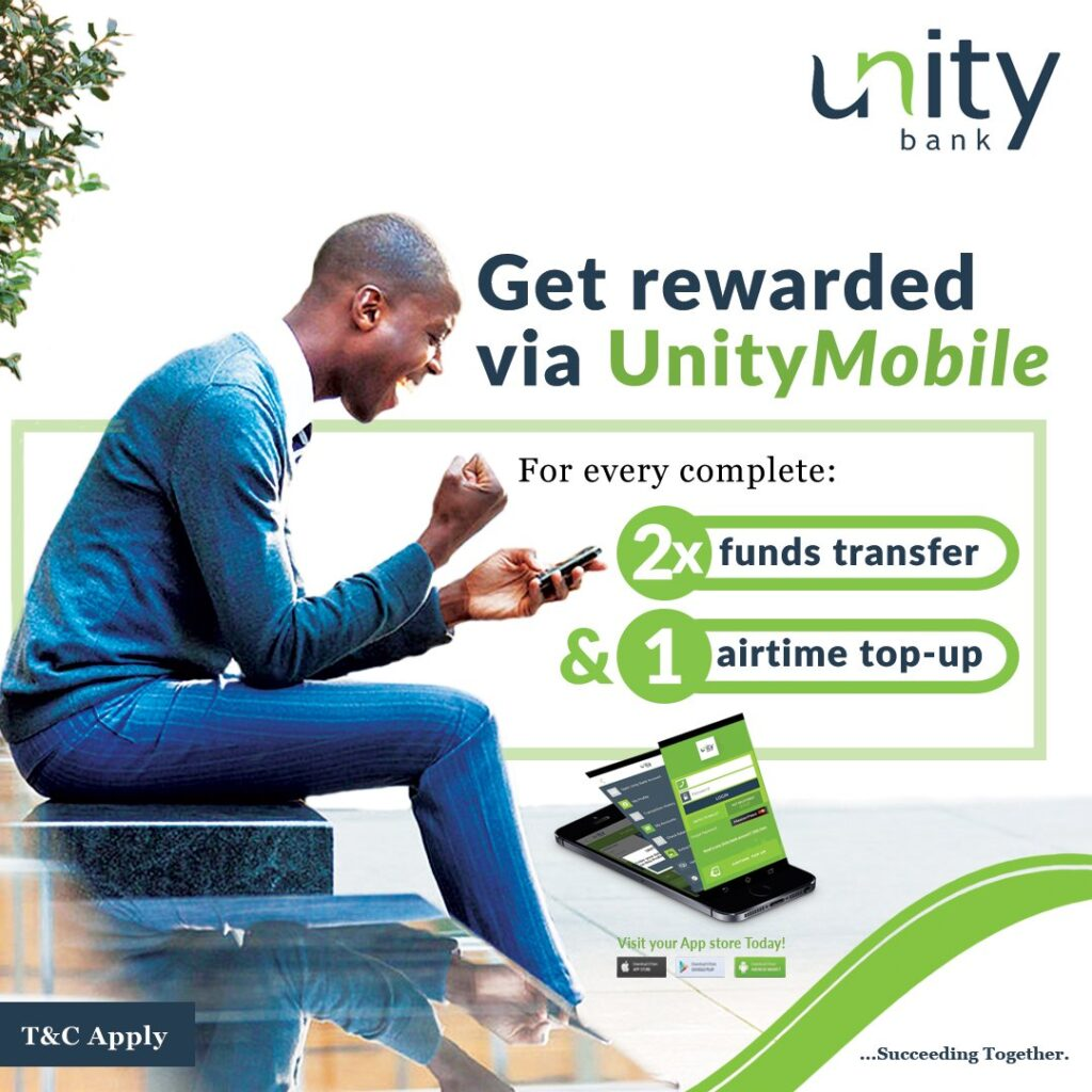 unity bank mobile app