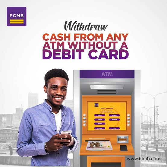 fcmb cardless withdrawal
