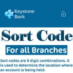 Keystone Bank sort code