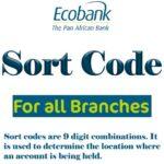 ecobank sort code