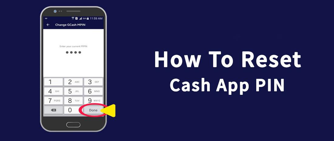 forgot cash app pin