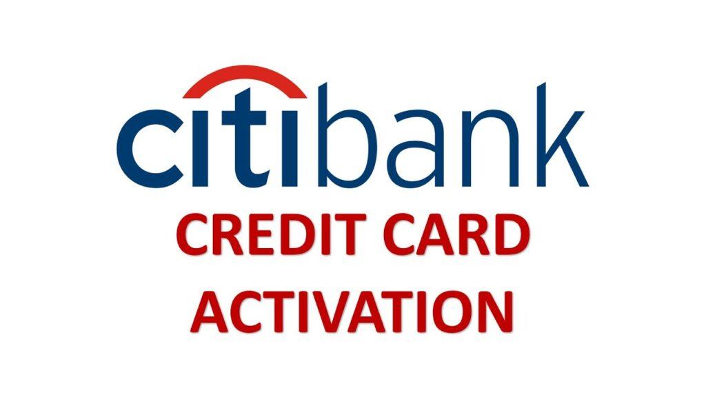how to activate citibank debit card