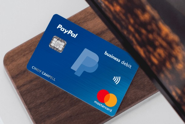 activate paypal mastercard credit card