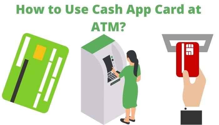 cash app card at atm