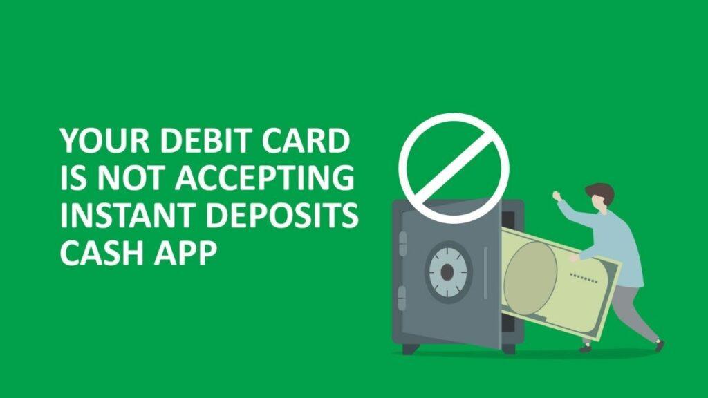 cash app instant deposit not showing up